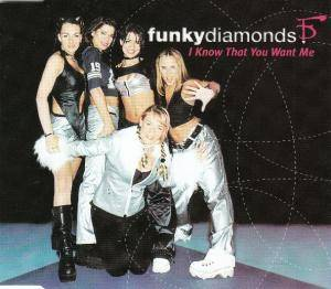 Cover - Funky Diamonds: I Know That You Want Me