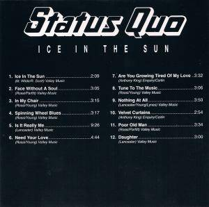 Status Quo: Ice In The Sun (CD) - Bild 2