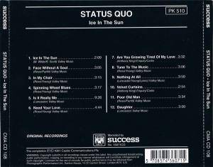 Status Quo: Ice In The Sun (CD) - Bild 3