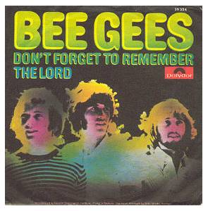 Bee Gees: Don't Forget To Remember - Cover