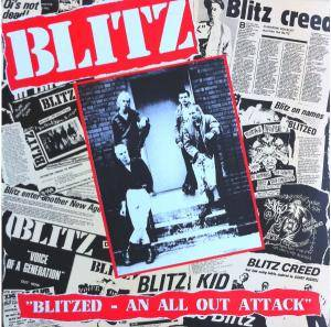 Blitz: Blitzed - An All Out Attack - Cover