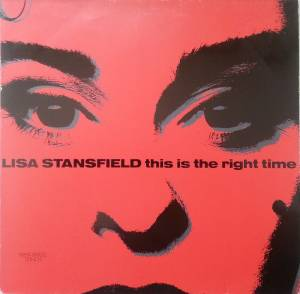 Lisa Stansfield: This Is The Right Time - Cover