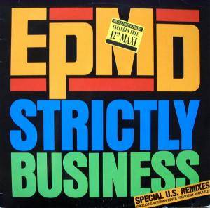 Cover - EPMD: Strictly Business