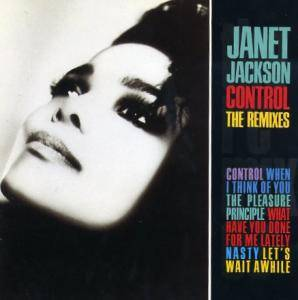 Janet Jackson: Control - The Remixes - Cover