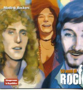 Cover - Stevie Ray Vaughan And Double Trouble: 50 anni di ROCK 10: Mods & Rockers