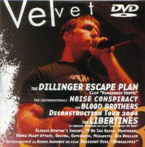 Cover - Various Artists/Sampler: Velvet #03 DVD