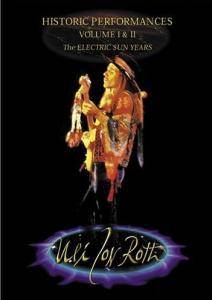 Cover - Uli Jon Roth: Historic Performances - Volume I & II - The Electric Sun Years