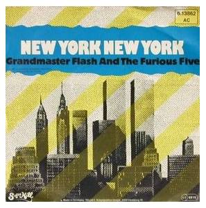 Grandmaster Flash & The Furious Five: New York New York - Cover