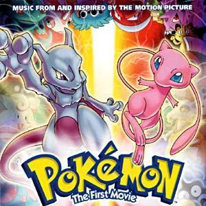 Pokémon: The First Movie - Music From And Inspired By The Motion Picture - Cover