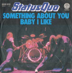 Status Quo: Something About You Baby I Like - Cover