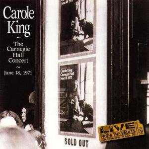 Carole King: Carnegie Hall Concert - June 18, 1971, The - Cover