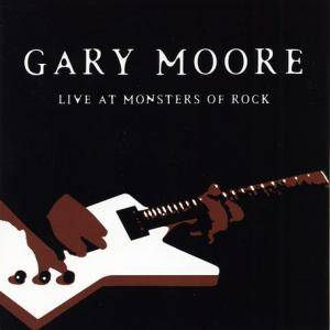 Gary Moore: Live At Monsters Of Rock - Cover