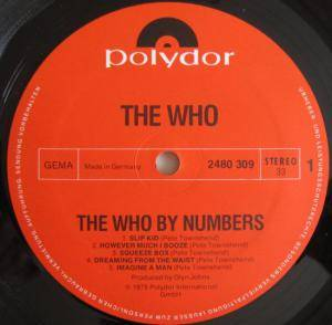 The Who: The Who By Numbers (LP) - Bild 3