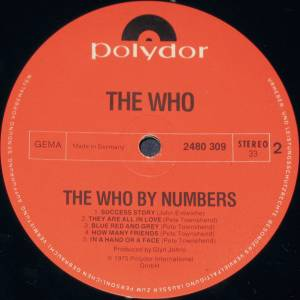 The Who: The Who By Numbers (LP) - Bild 4