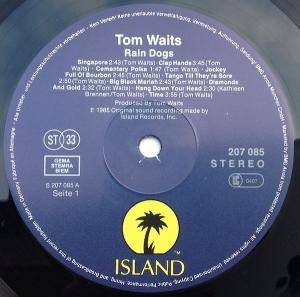 Tom Waits: Rain Dogs (LP) - Bild 3