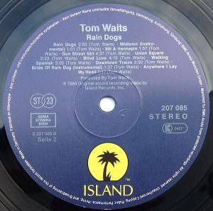 Tom Waits: Rain Dogs (LP) - Bild 4