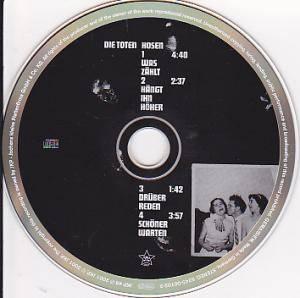 Die Toten Hosen: Was Zählt (Single-CD) - Bild 2