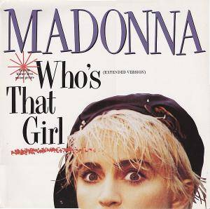 Madonna: Who's That Girl - Cover