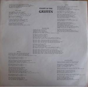 Griffin: Flight Of The Griffin (LP) - Bild 4