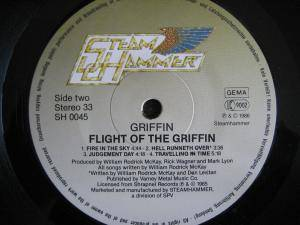 Griffin: Flight Of The Griffin (LP) - Bild 8