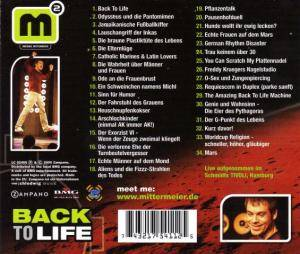 Michael Mittermeier: Back To Life (CD) - Bild 2