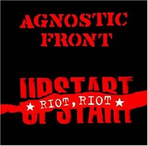 Cover - Agnostic Front: Riot, Riot Upstart