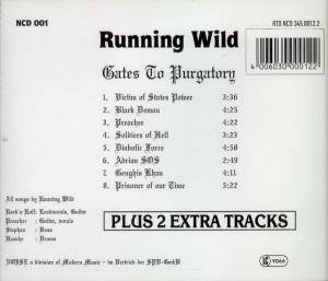 Running Wild: Gates To Purgatory (CD) - Bild 2
