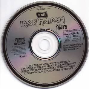 Iron Maiden: Killers (CD) - Bild 2