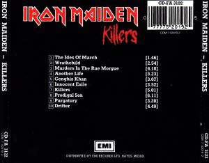 Iron Maiden: Killers (CD) - Bild 3