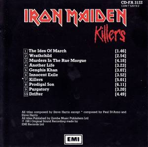 Iron Maiden: Killers (CD) - Bild 4