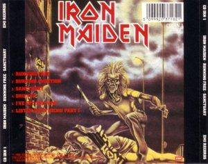 Iron Maiden: Running Free / Sanctuary (Mini-CD / EP) - Bild 2