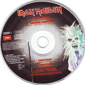 Iron Maiden: Running Free / Sanctuary (Mini-CD / EP) - Bild 3