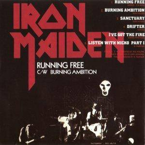 Iron Maiden: Running Free / Sanctuary (Mini-CD / EP) - Bild 4