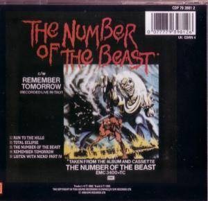 Iron Maiden: Run To The Hills / The Number Of The Beast (Mini-CD / EP) - Bild 2