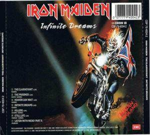 Iron Maiden: The Clairvoyant / Infinite Dreams (Mini-CD / EP) - Bild 2