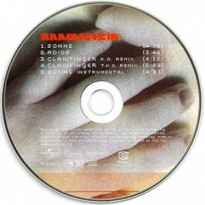 Rammstein: Sonne (Single-CD) - Bild 5