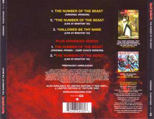 Iron Maiden: The Number Of The Beast (Single-CD) - Bild 2