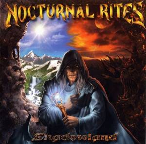 Nocturnal Rites: Shadowland - Cover