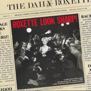 Cover - Roxette: Look Sharp!