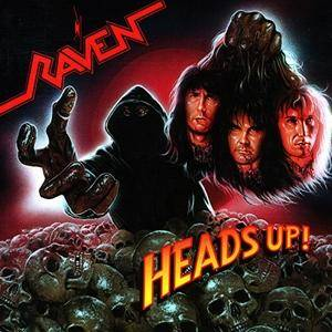 Raven: Heads Up! - Cover