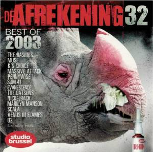 De Afrekening 32: Best of 2003 - Cover