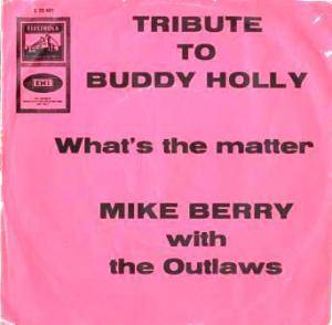Cover - Mike Berry & The Outlaws: Tribute To Buddy Holly