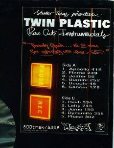 Cover - Stieber Twins: Twin Plastic