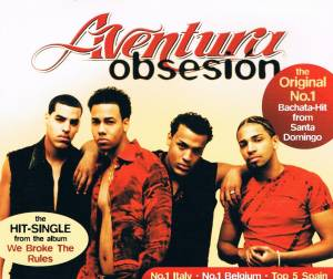Cover - Aventura: Obsesion