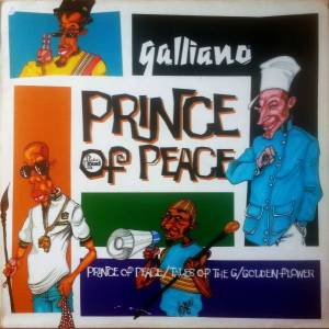 Cover - Galliano: Prince Of Peace