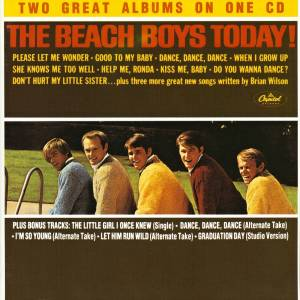 the beach boys today summer days and summer nights cd 1990 remastered special edition. Black Bedroom Furniture Sets. Home Design Ideas