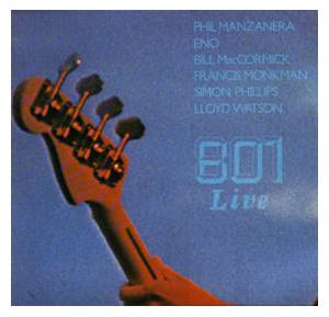 801: Live - Cover