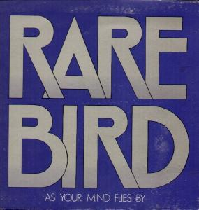 Rare Bird: As Your Mind Flies By - Cover
