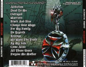 Agnostic Front: Warriors (CD) - Bild 4