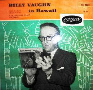 Billy Vaughn & His Orchestra: Billy Vaughn In Hawaii - Cover